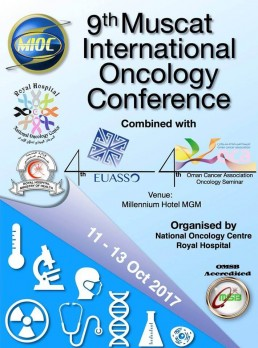4th EUASSO - 9th Muscat(Oman) International Oncology Conference